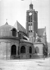 Eglise Saint-Laurent - Angle nord-est