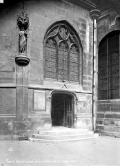 Eglise Saint-Laurent - Abside : Porte et fenêtre