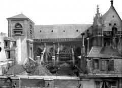 Eglise Saint-Merri - Façade sud : Partie supérieure