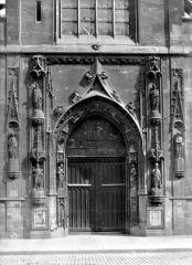 Eglise Saint-Nicolas-des-Champs - Portail de la façade ouest