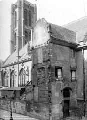 Eglise Saint-Nicolas-des-Champs - Façade sud : Restes de l'ancien monastère
