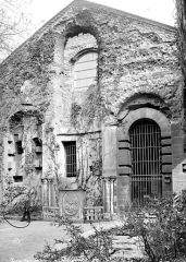 Ancien hôtel de Cluny et Palais des Thermes, actuellement Musée National du Moyen-Age - Pignon