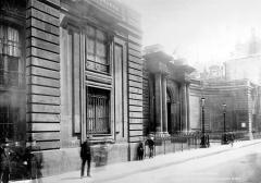 Anciens hôtels de Rohan et Soubise, actuellement Archives Nationales - Hôtel de Soubise. Façade sur la rue des Francs-Bourgeois
