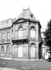 Anciens hôtels de Rohan et Soubise, actuellement Archives Nationales - Hôtel de Soubise. Pavillon