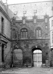 Anciens hôtels de Rohan et Soubise, actuellement Archives Nationales - Hôtel de Clisson. Chapelle