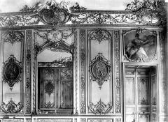 Anciens hôtels de Rohan et Soubise, actuellement Archives Nationales - Hôtel de Soubise. Salle des Bourbons : Lambris
