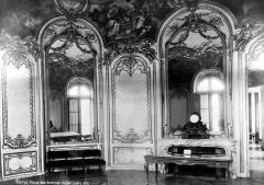 Anciens hôtels de Rohan et Soubise, actuellement Archives Nationales - Hôtel de Soubise. Grand salon