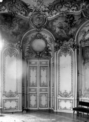 Anciens hôtels de Rohan et Soubise, actuellement Archives Nationales - Hôtel de Soubise. Grand salon : Porte