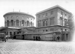 Ancienne barrière d'octroi de la Villette ou rotonde de la Villette - Vue d'ensemble