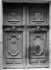 Hôtel Meiland - Façade sur rue : Porte