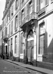 Hôtel Le Lièvre  ou de La Grange - Façades sur rue