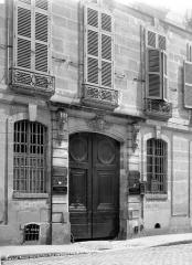Hôtel Le Ferron ou de Brabançois - Façades sur rue