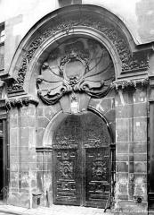 Hôtel de Chalons-Luxembourg - Façade sur rue : Portail