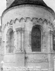 Eglise - Abside, côté est