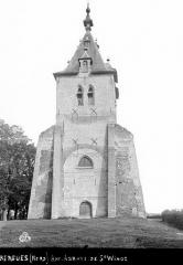 Ancienne abbaye Saint-Winoc - Eglise : Ensemble ouest