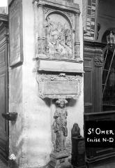 Collégiale, puis cathédrale Notre-Dame, actuellement église paroissiale Notre-Dame - Monument commémoratif