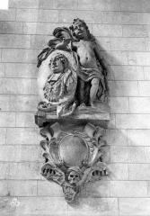 Collégiale, puis cathédrale Notre-Dame, actuellement église paroissiale Notre-Dame - Monument funéraire de François de Valbelle, évêque de Saint-Omer