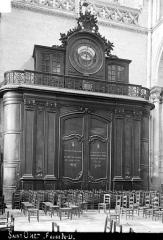 Collégiale, puis cathédrale Notre-Dame, actuellement église paroissiale Notre-Dame - Horloge astronomique