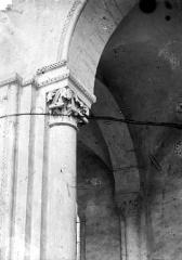 Cathédrale Saint-Julien - Chapiteau de la nef et du bas-côté