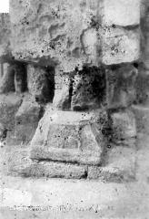 Cathédrale Saint-Julien - Chapelle Saint-Sauveur : Base de pilier