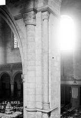 Abbaye de la Couture - Eglise : Pilier de la nef