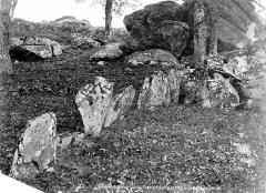 Cromlech du Puy de Pauliac - Partie supérieure