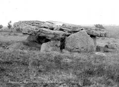 Dolmen dit la Pierre couverte de Bué - Face longitudinale