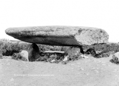Dolmen dit Table-des-Marchands - Vue d'ensemble