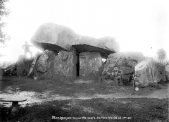 Dolmen dit La Pierre Folle - Allée couvert, côté sud
