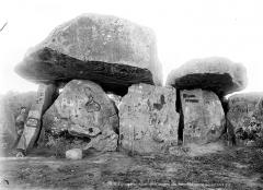 Dolmen dit La Pierre Folle - Allée couverte : Partie centrale