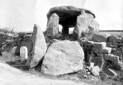 Dolmen de Kergarat, ou Kervagat - Vue d'ensemble
