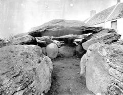 Dolmen de Roc-en-Aud - Vue intérieure