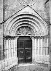 Eglise Saint-Florent - Portail de la façade ouest