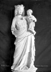 Cathédrale et cloître - Cloître, Vierge et l'Enfant