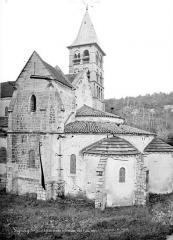 Eglise - Angle sud-est : Abside et transept sud