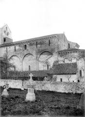 Eglise Saint-Christophe des Templiers - Façade sud