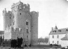 Château de Romefort - Ensemble sud-est