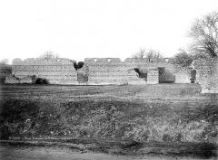 Ruines romaines des Mazelles - Monument gallo-romain : Mur