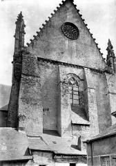 Cathédrale de la Trinité - Grand pignon nord