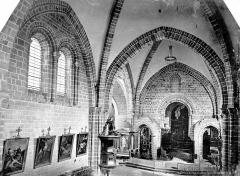 Cathédrale de la Trinité - Vue intérieure de la nef, vers le nord-est, prise de la tribune