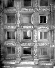 Palais de Justice - Chambre dorée : Plafond à caissons