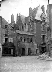 Ancien hôtel de Thévalle - Façade sur rue