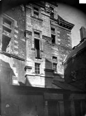 Ancien hôtel de Thévalle - Façade sur cour