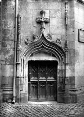 Logis Barrault - Tourelle, porte