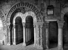 Ancienne abbaye Saint-Aubin, actuelle préfecture - Cloître
