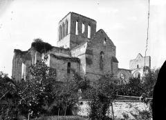 Eglise Saint-Denis (ruines) - Ruines, ensemble