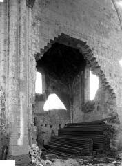 Eglise Saint-Denis (ruines) - Transept nord