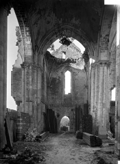 Eglise Saint-Denis (ruines) - Passages, transept