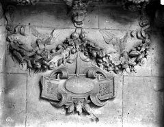 Château - Chapelle, verrières, détails