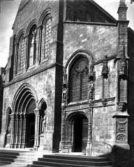 Eglise Saint-Alpin - Portail